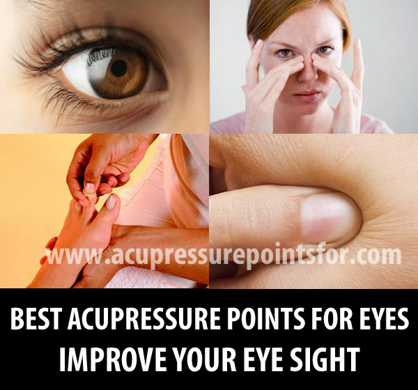 BEST ACUPRESSURE POINTS FOR EYES IMPROVE YOUR EYE SIGHT